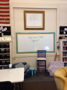 Flexible Seating/Watercolor Room Reveal! {2016-17}