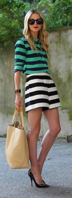 #street #fashion summer stripes @wachabuy