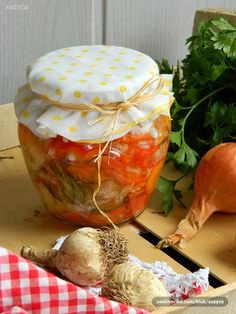 Šarena salata Preserves, Canning, Food, Home Canning, Meals, Preserve, Yemek, Eten, Conservation