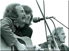 WOODSTOCK 1969 crosby nash and stills