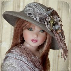 Dianna Effner 2012 Dolls | Doll Hats and Fascinators - Robert Tonner, Kaye Wiggs, Dianna Effner ...