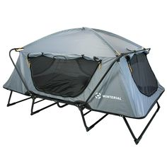 Winterial Oversize Outdoor Tent Cot / Camping / Family Camping / Adventure/ Elevated sleeping platform / Ultimate camping experience *** You can find more details by visiting the image link.