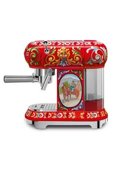 Fashion giants Dolce and Gabanna have collaborated with Smeg on a colourful kitchenware line - interiors news on HOUSE by House & Garden