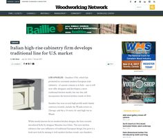2016 Woodworking Network | Italian high-rise cabinetry firm develops traditional line for U.S. market Italian high-rise cabinetry firm develops traditional line for U.S. market