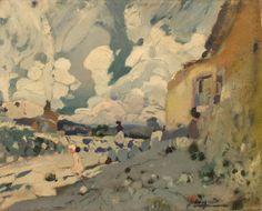 Joaquim Mir - Paisatge (Maspujols. Camp de Tarragona), 1907-10, oil on canvas