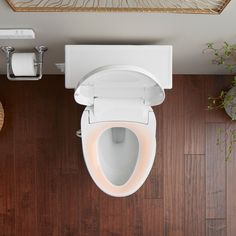 Experience a new level of cleansing for daily comfort and confidence. This advanced bidet toilet seat with cleansing functionality uses naturally soothing water as a refreshing, hygienic alternative to toilet tissue