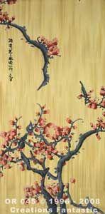Backdrop OR045 Oriental Flower Panel 5