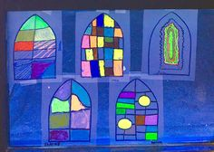 Marc Chagall Stained Glass Project - This week I went to SRA, the Senior Resource Assoc. in Vero Beach. SRA provides services designed to promote an active, he