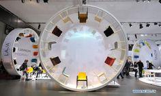 Product showcase: Furniture wheel Highlights of International Furniture Fair 2012 in Milan - China.org.cn