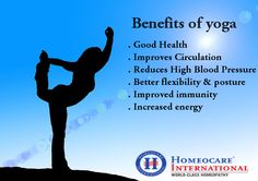Understand the benefits of yoga that can make a huge  and permanent difference to your life. Visit us at: www.onlinehomeocare.com