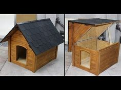 Diy Large Dog House Plans - Diy Large Dog House Plans , 12 Free Dollhouse Plans that You Can Diy today Double Dog House, Large Dog House Plans, Big Dog House, Wood Dog House, Build A Dog House, Big Dogs, Large Dogs, Irish Dog Breeds, Dog Grooming Clippers