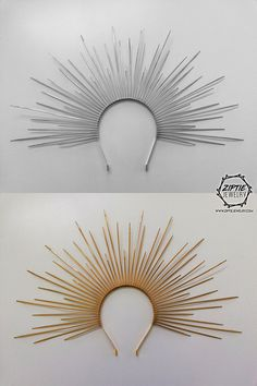 Hey, I found this really awesome Etsy listing at https://www.etsy.com/listing/599380228/zip-tie-spiked-halo-crown-fashion