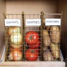 21 Brilliant DIY Kitchen Organization Ideas wire baskets (magazine holders) - Own Kitchen Pantry Diy Kitchen Storage, Pantry Storage, Pantry Organization, Kitchen Pantry, Diy Storage, Storage Ideas, Smart Kitchen, Wall Storage, Pantry Ideas