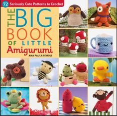 The BIG BOOK of Little Amigurumi  by Ana Paula Rimoli (signed if you'd like)