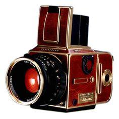 The Hasselblad 503CW Gold Supreme camera