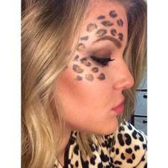 Cheetah Makeup Halloween