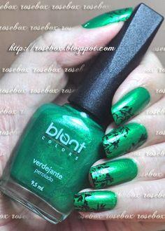 esmalte Blant verdejante carimbado