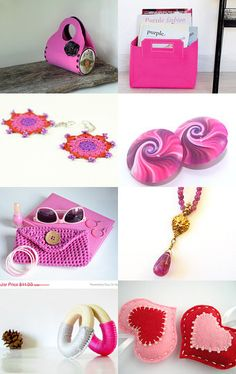 love pink by Tom and Tzameret Moatty on Etsy--Pinned with TreasuryPin.com