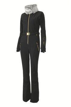 Bond-girl, ski suit cont'd...