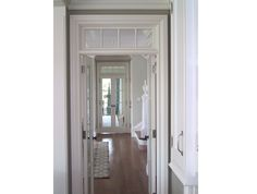 these exterior french doors have larger glass area than Marvin doors