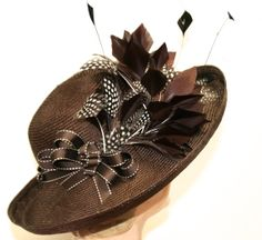 Kentucky Derby Hat Couture Women's Hat Easter by MakowskyMillinery, $265.00