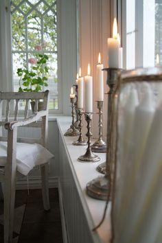 Lovely old candlesticks