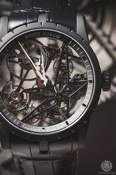 WATCH ANISH - SIHH 2015 Live Update: Roger Dubuis Astral Skeleton Watches