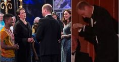 Watch Prince William gallop in the name of laughter at the Royal Variety Performance