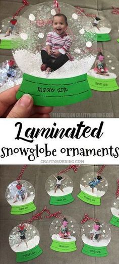 Laminated snowglobe ornaments for kids to make for Christmas.- Laminated snowglobe ornaments for kids to make for Christmas gifts/crafts! You c… Laminated snowglobe ornaments for kids to make for Christmas gifts/crafts! You can personalize them! Kids Crafts, Toddler Crafts, Preschool Crafts, Christmas Crafts For Kindergarteners, Christmas Crafts For Kids To Make Toddlers, Kids Holiday Crafts, Party Crafts, Kindergarten Christmas Crafts, Kids Diy