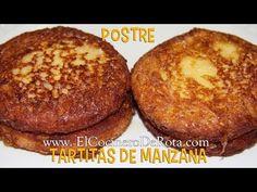Tartitas de Manzana fritas - Receta de Postre de Manzana - YouTube