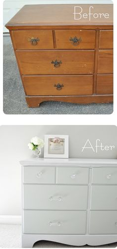 DIY How to Paint Furniture