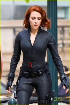 Avengers Wallpaper: Scarlett Johansson
