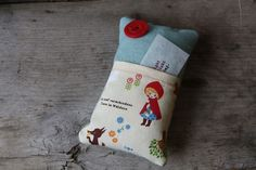 prayer pillow- write a prayer, put in your pillowcase...let go and let God.  Lovely.