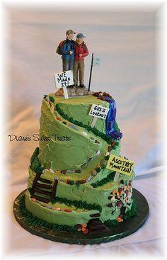 Wedding trail cake!