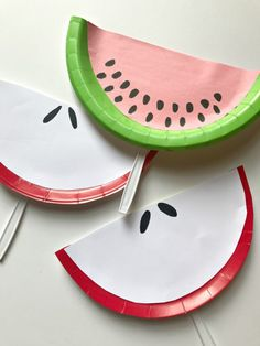 This quick and easy craft for kids is very hands on with adorable useful results. Each child can make several different fruit slice paper plate fans!