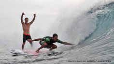 Inspired by the joy of sport. Meet surfer Derek Rabelo from Brazil. Derek is blind, he was born with congenital glaucoma. He also swims, rides, skateboards and bikes.  www.legend-s.co.uk