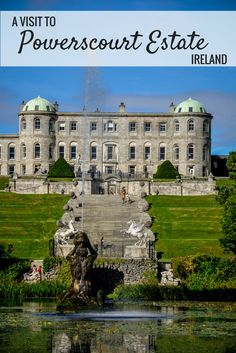 A visit to the Powerscourt Estate and Gardens makes a great day trip from Dublin, Ireland