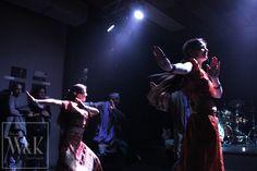Inauguració Exposició Set List fotografies de concerts Dune Valls 11 abril 2015 Actuació Mahive Dance