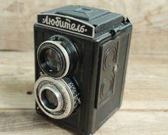 Ancien Vintage soviétique appareil photo LOMO Lubitel /