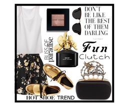 """""""Untitled #144"""" by reneejeanetts ❤ liked on Polyvore featuring Miss Selfridge, Alexander McQueen, Ace, Bobbi Brown Cosmetics, Marc Jacobs and Marni"""