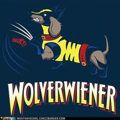The official Wolverwiener t-shirt by Nerd Approved! Oh I'm definitely donating this in the next Dachshund World Auction! Michigan Wolverines, Dog Love, Puppy Love, Walking Dead, Dachshund Art, Piebald Dachshund, Funny Dachshund, Daschund, Dachshund Puppies