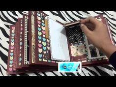 "▶ Scrapbook Mini Album Prima ""Madeline"" - YouTube"
