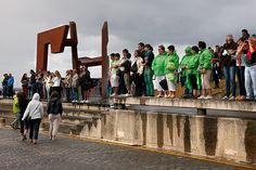 Regatas de traineras de la Concha de San Sebastian - Donostia 2012. Pais Vasco. © Inaki Caperochipi Photography