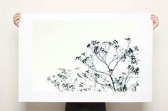 Tree Canvas Print Large Black and White Botanicals 20x30 minimalist home decor wedding gift wall art