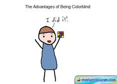 Advantages Of Being Color Blind