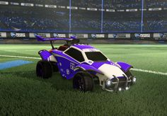 a rocket league car