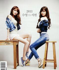 Sooyoung & Seohyun : High Cut