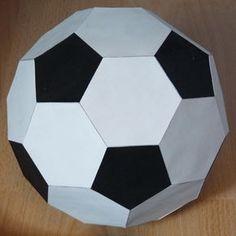 black and white football (truncated icosahedron)