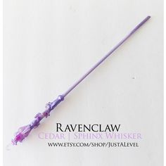 Lilac Harry Potter Inspired Wand (Ravenclaw)
