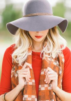 Vanessa Floppy Hat at #Ruche @mimi ヾ(^∇^)